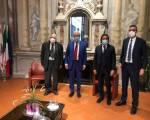 Il nuovo ambasciatore del Kuwait a Roma, per la prima volta in visita a Firenze